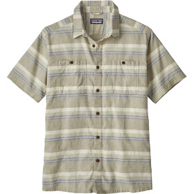 Patagonia M's Back Step Shirt Shorelines Stripe: Shale